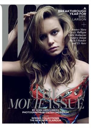 Brie Larson - W Magazine (February 2016)