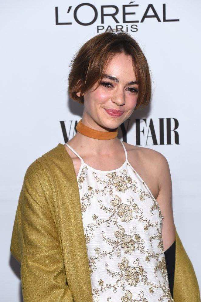 Brigette Lundy-Paine - Vanity Fair and L'Oreal Paris Toast to Young Hollywood in West Hollywood