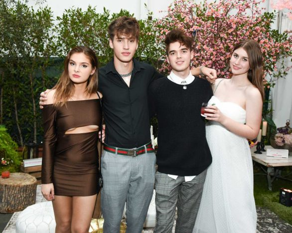 Brighton Sharbino - Betsey Johnson x Loren Gray Prom Collection Garden Party in West Hollywood