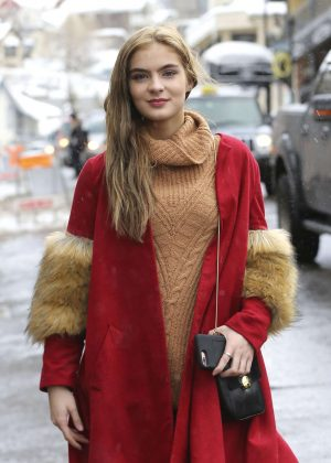 Brighton Sharbino out at 2017 Sundance Film Festival in Utah