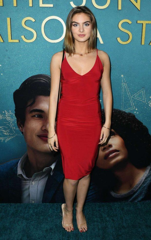 Brighton Sharbino - 'The Sun is Also A Star' Premiere in Los Angeles