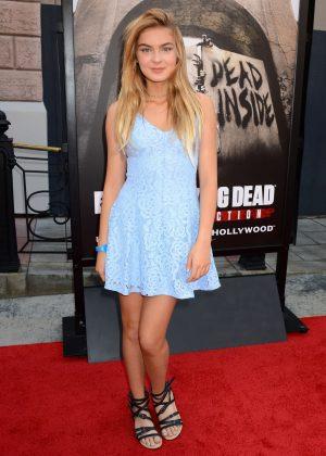 Brighton Sharbino - 'The Walking Dead' Attraction Opening in Los Angeles
