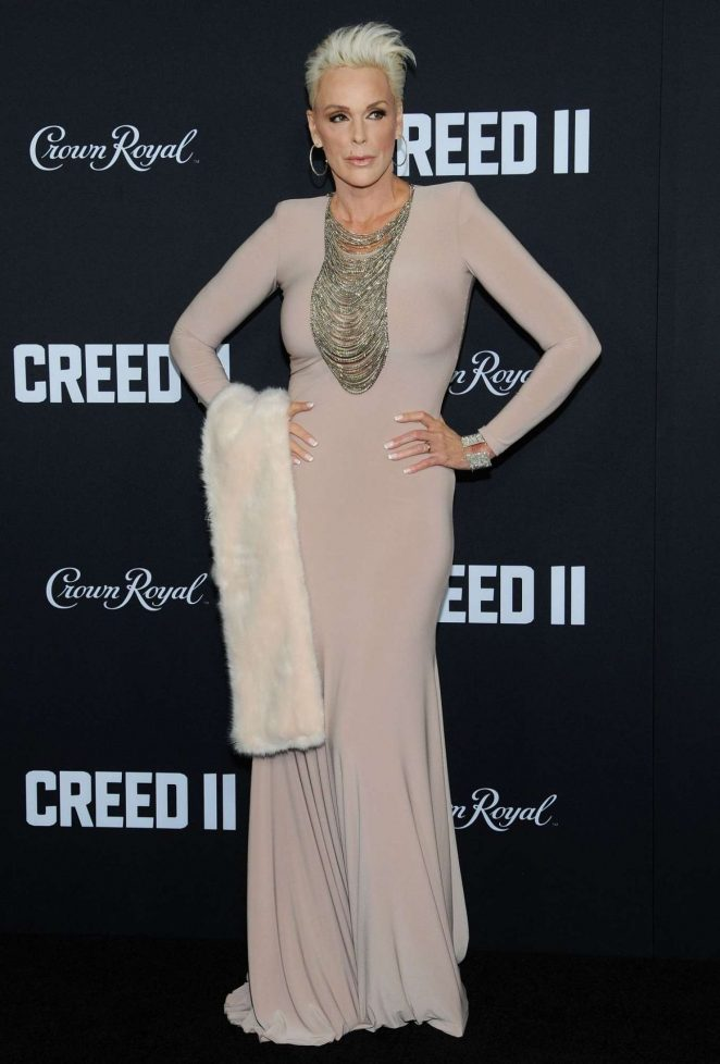 Brigitte Nielsen - 'Creed 2' Premiere in New York