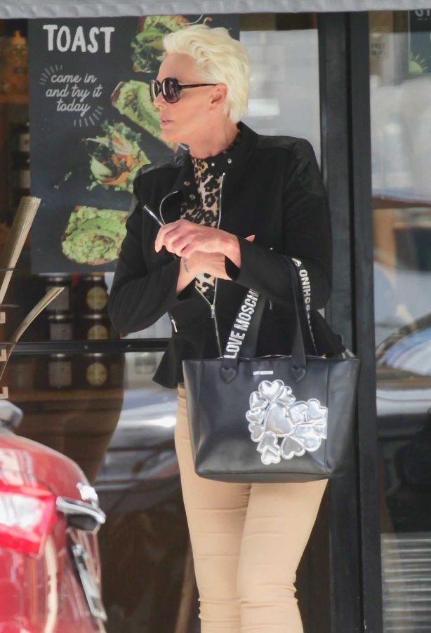 Brigitte Nielsen - Out for lunch in Sherman Oaks
