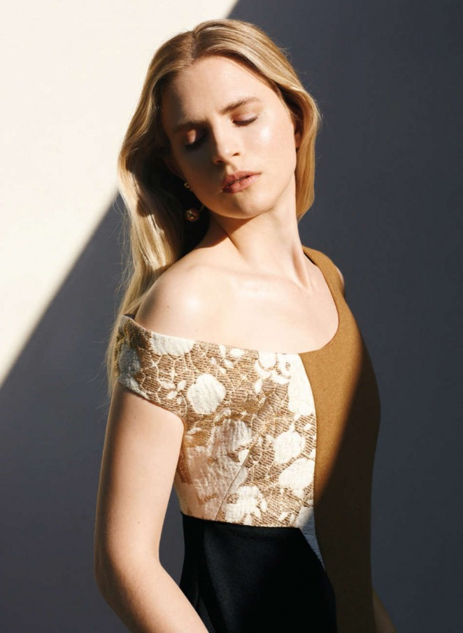 Brit Marling - InStyle Photoshoot (October 2015)