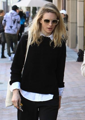 Brit Marling out in Los Angeles