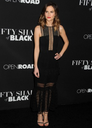 Brit Shaw - 'Fifty Shades of Black' Premiere in Los Angeles