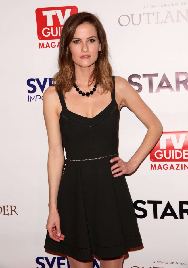 Brit Shaw - TV Guide Magazine and STARZ Celebration of OUTLANDER in West Hollywoo
