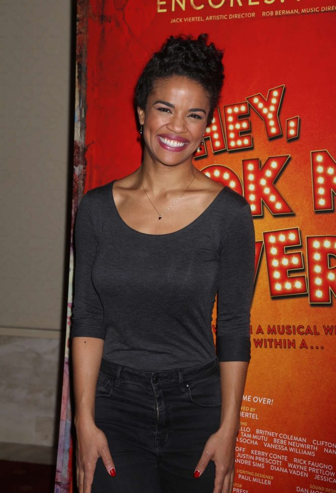 Britney Coleman - Closing Night Party for Encores Hey, Look Me Over! in NY