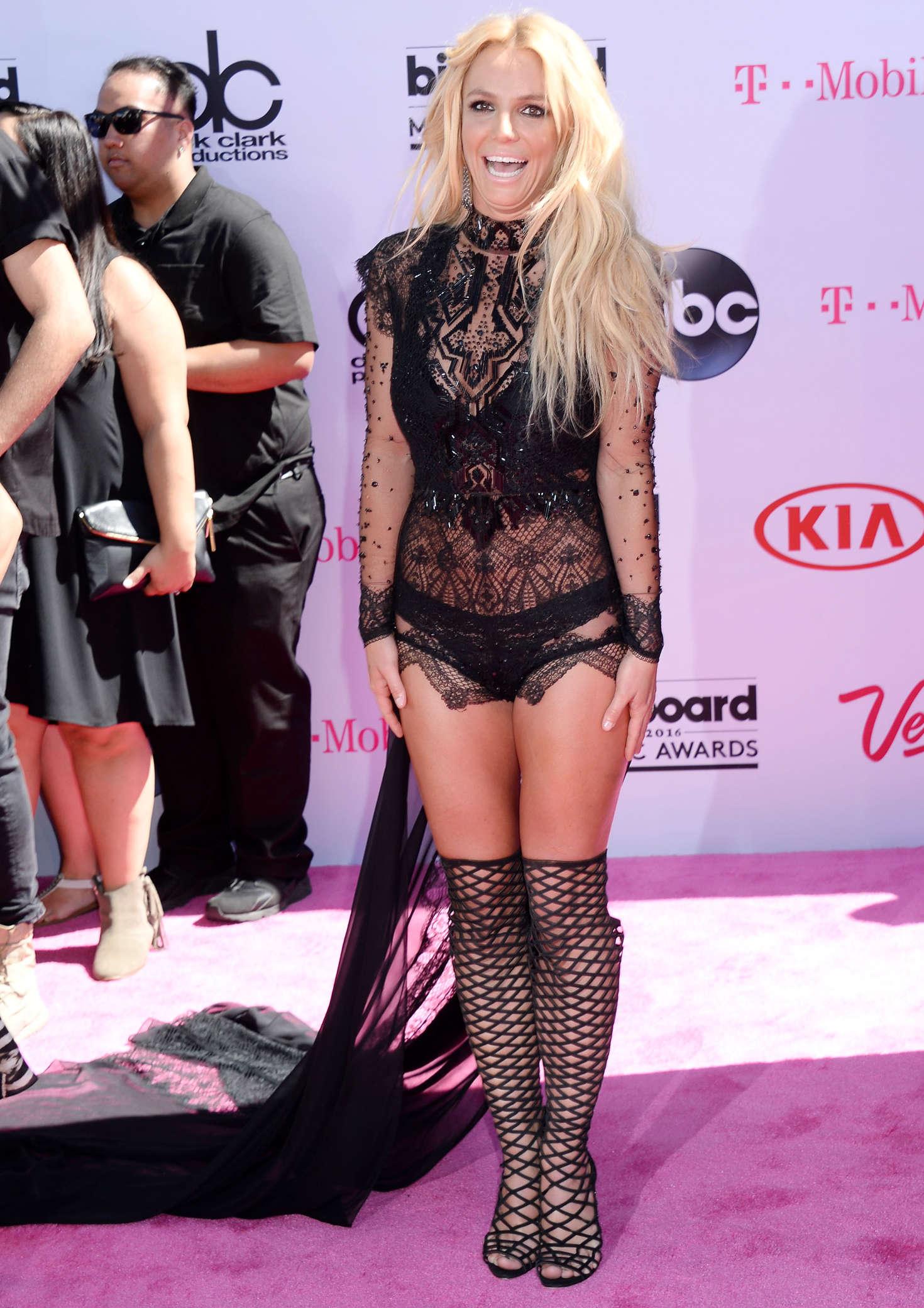 Britney Spears: 2016 Billboard Music Awards -06 - GotCeleb Britney Spears Las Vegas