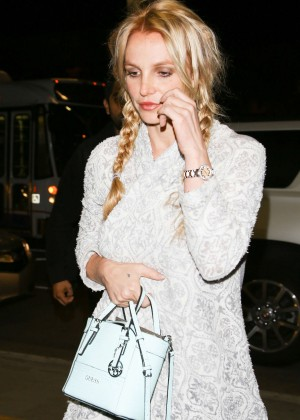 Britney Spears at LAX Airport in Los Angeles
