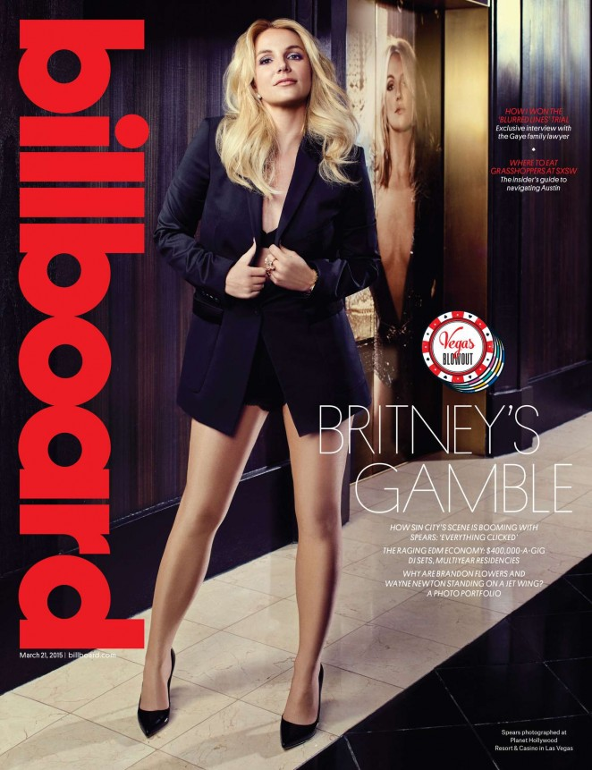 Britney Spears - Billboard Magazine (March 2015)