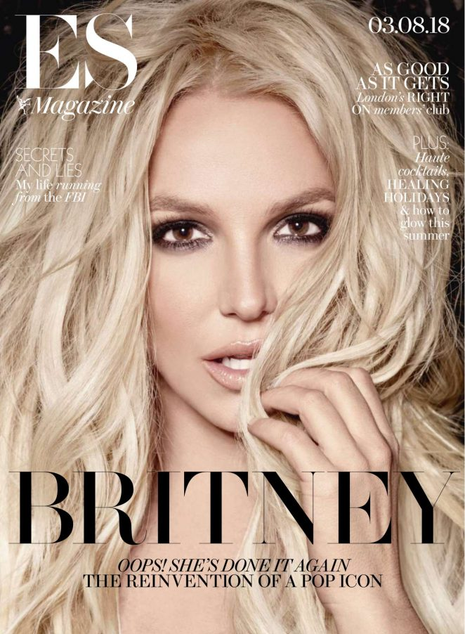Britney Spears - Evening Standard Magazine (August 2018)