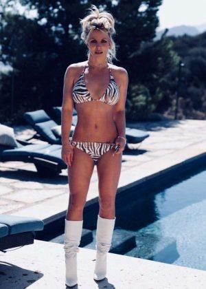 Britney Spears in Bikini - Twiiter