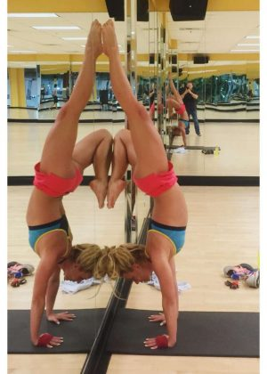 Britney Spears in Gym - Instagram