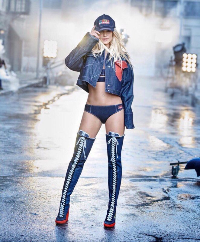 Britney Spears - Kenzo Campaign 2018