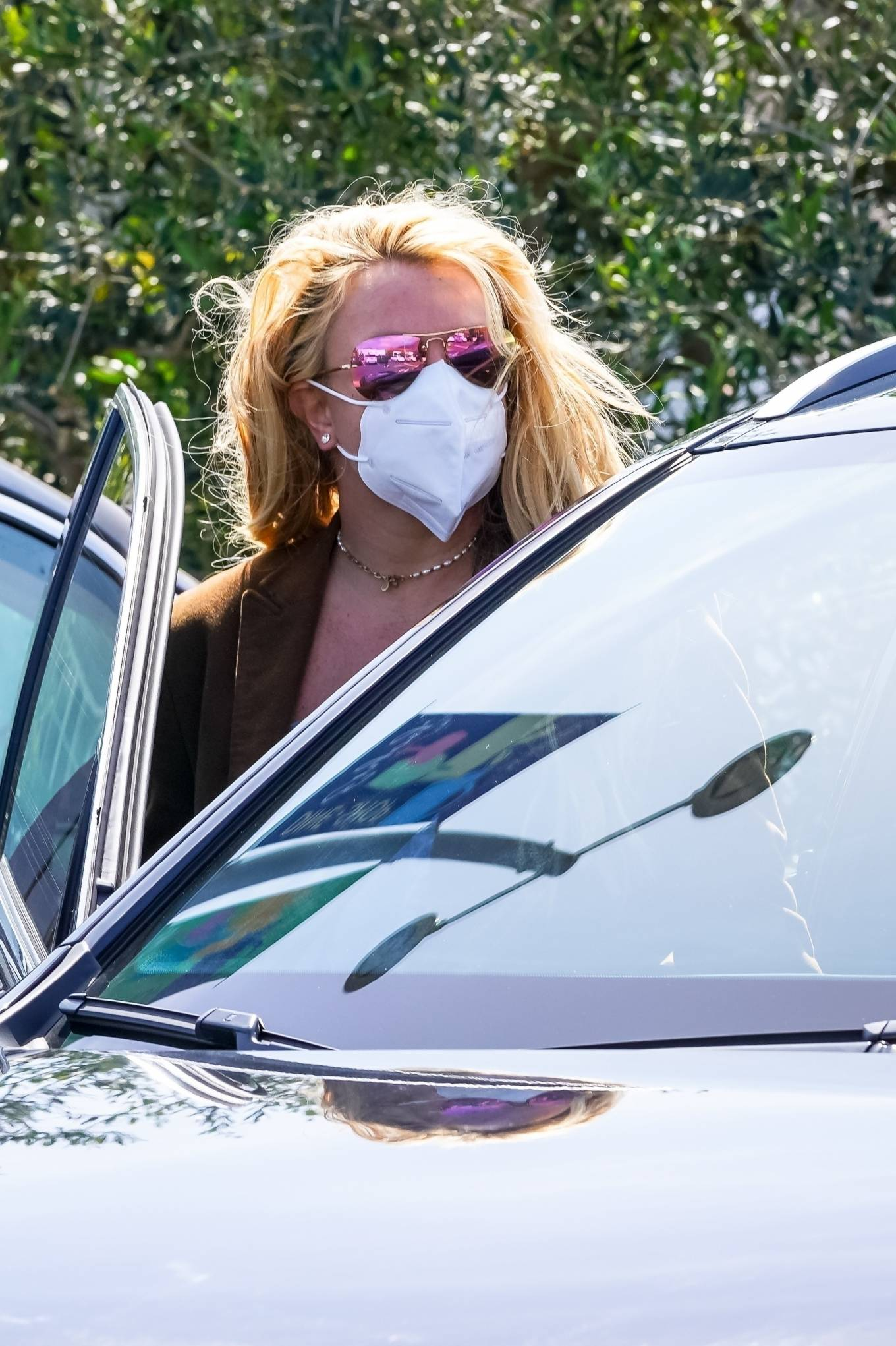 Britney Spears 2021 : Britney Spears – Out for shopping -16