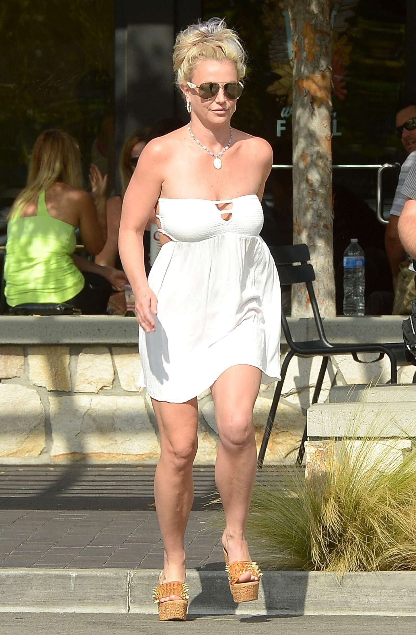 Britney Spears 2015 : Britney Spears in Short Dress -08