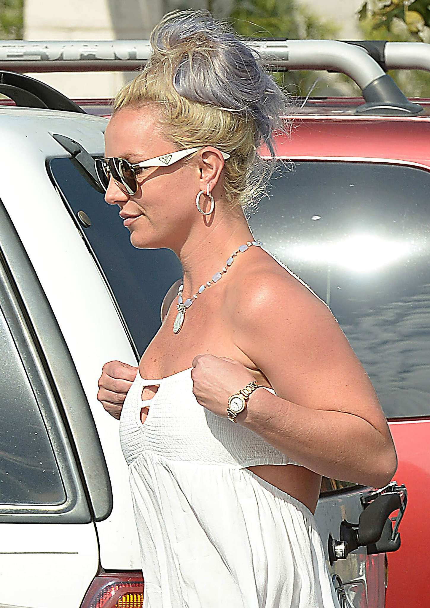 Britney Spears 2015 : Britney Spears in Short Dress -16