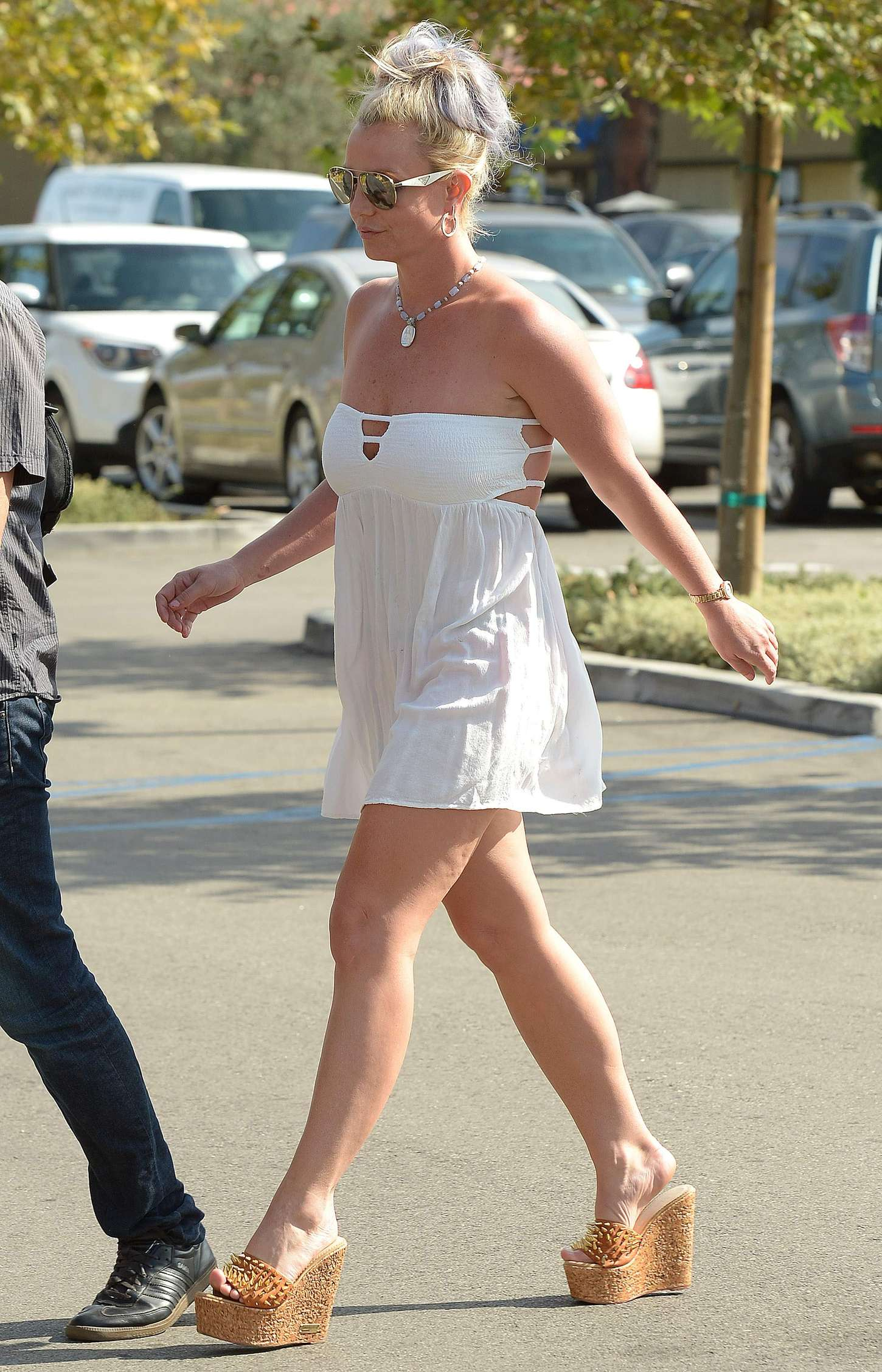Britney Spears 2015 : Britney Spears in Short Dress -17