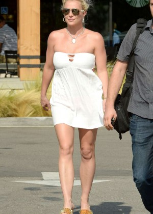 Britney Spears in Short Dress -22