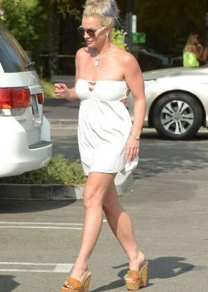 Britney Spears in Short Dress -27