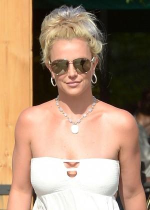 Britney Spears in Short Dress -28