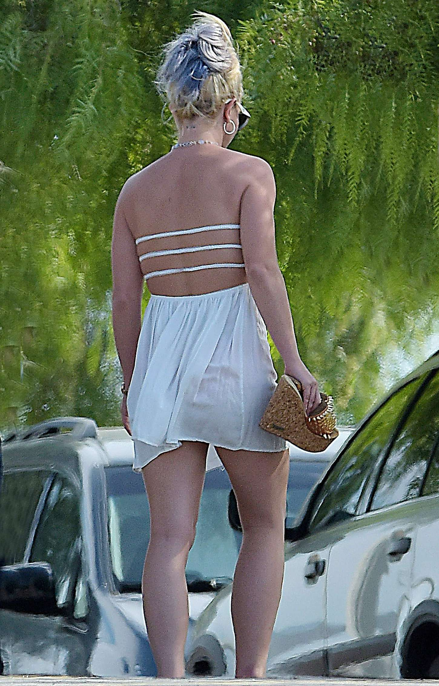 Britney Spears 2015 : Britney Spears in Short Dress -30