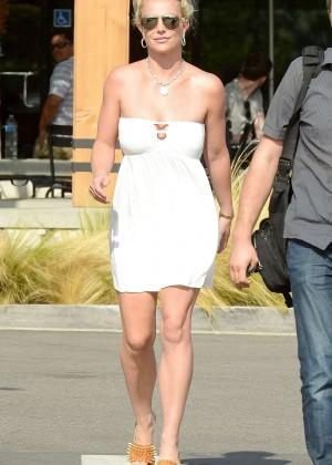 Britney Spears in Short Dress -33