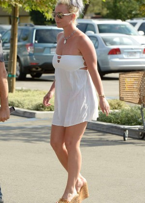 Britney Spears in Short Dress -34