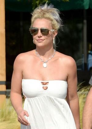 Britney Spears in Short Dress -35