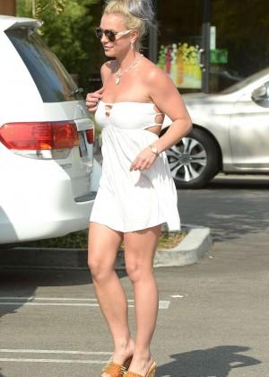 Britney Spears in Short Dress -42