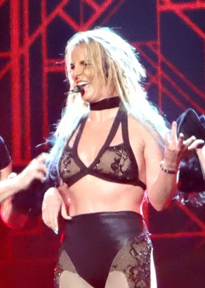 Britney Spears - Performing at Planet Hollywood in Las Vegas