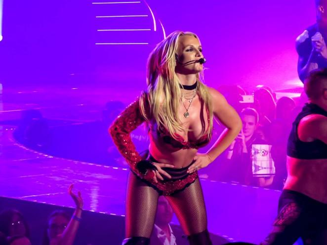 Britney Spears - Performing in Las Vegas