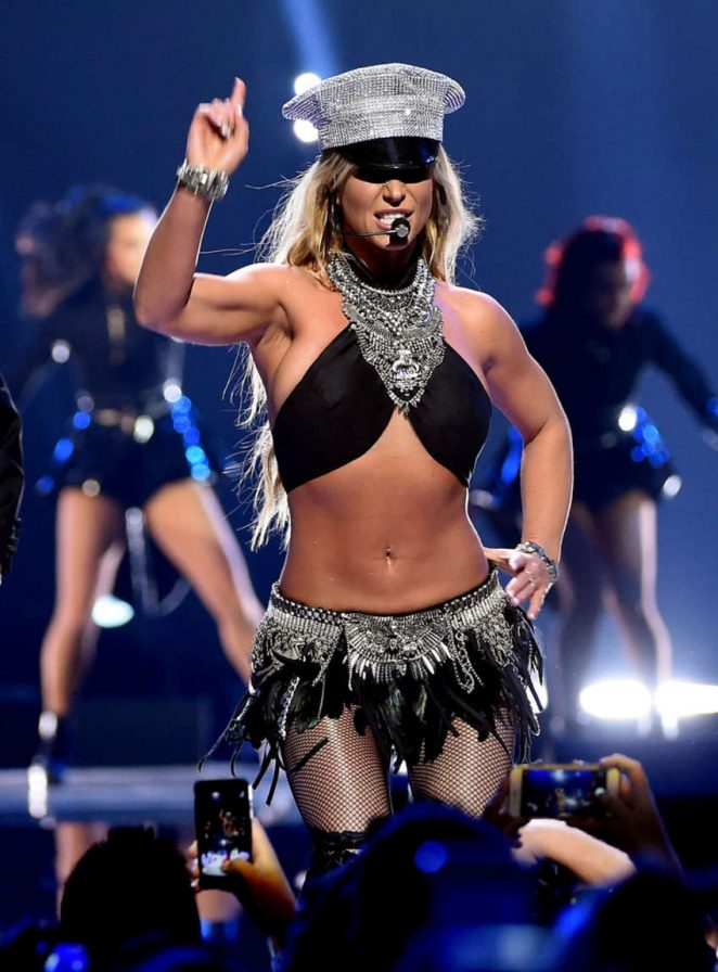 Britney Spears - Performs at 2016 iHeartRadio Music Festival Day 2 in Las Vegas