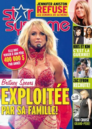 Britney Spears - Star Systeme Cover (September 2016)