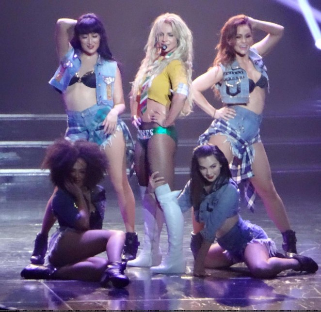 Britney Spears: The Piece Of Me Show in Las Vegas -06