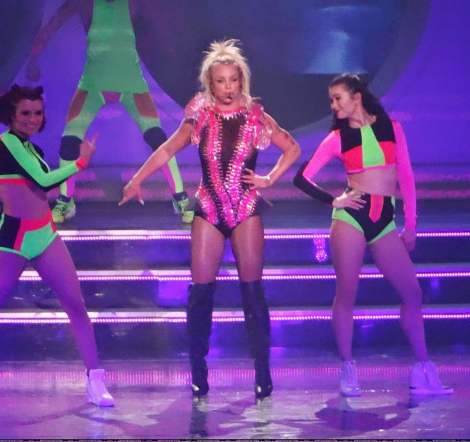 Britney Spears: The Piece Of Me Show in Las Vegas -30