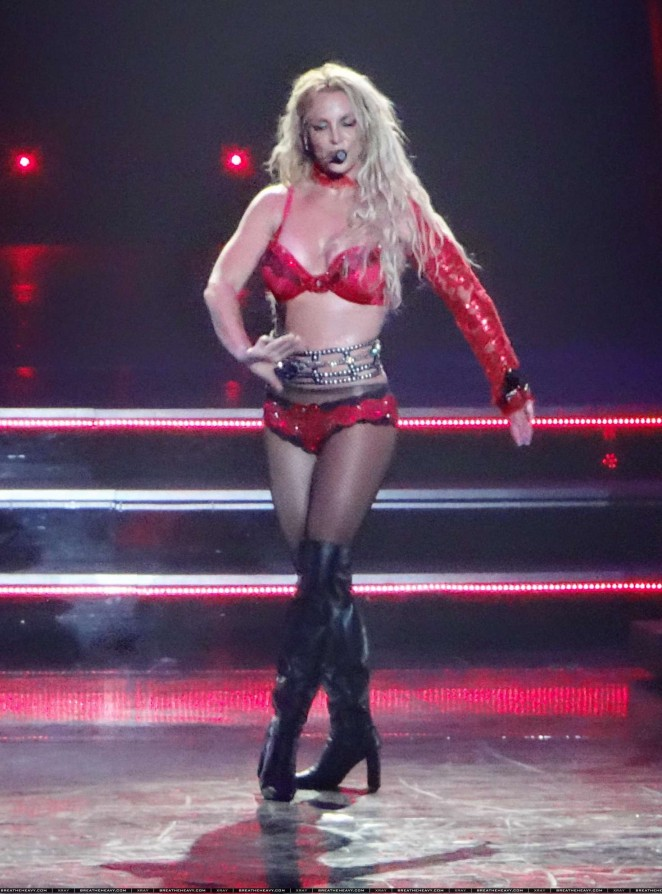 Britney Spears: The Piece Of Me Show in Las Vegas -34