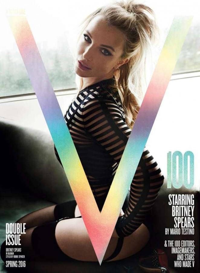 Britney Spears – V Magazine #100 Spring 2016