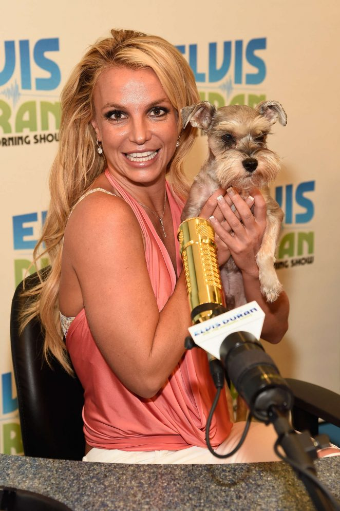 Britney Spears - Visits 'The Elvis Duran Z100 Morning Show' in NYC