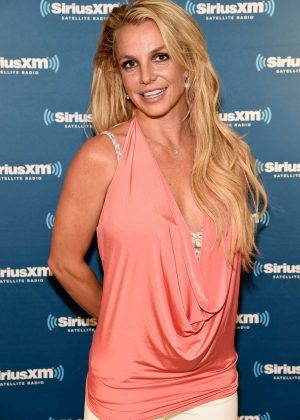 Britney Spears - Visits The SiriusXM Studios in New York City