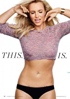 Britney Spears - Women's Health UK Magazine (March 2015)