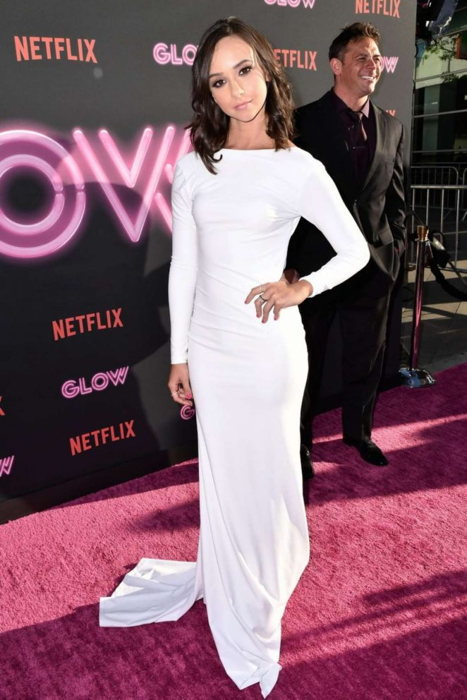 Britt Baron - GLOW TV Show Premiere in Los Angeles