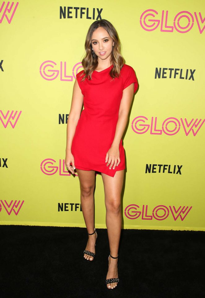 Britt Baron - Netflix 'Glow' Roller Skating Event in Los Angeles