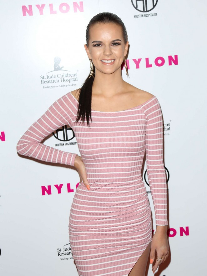 Britt Flatmo - NYLON Magazine's Muses And Music Party in LA
