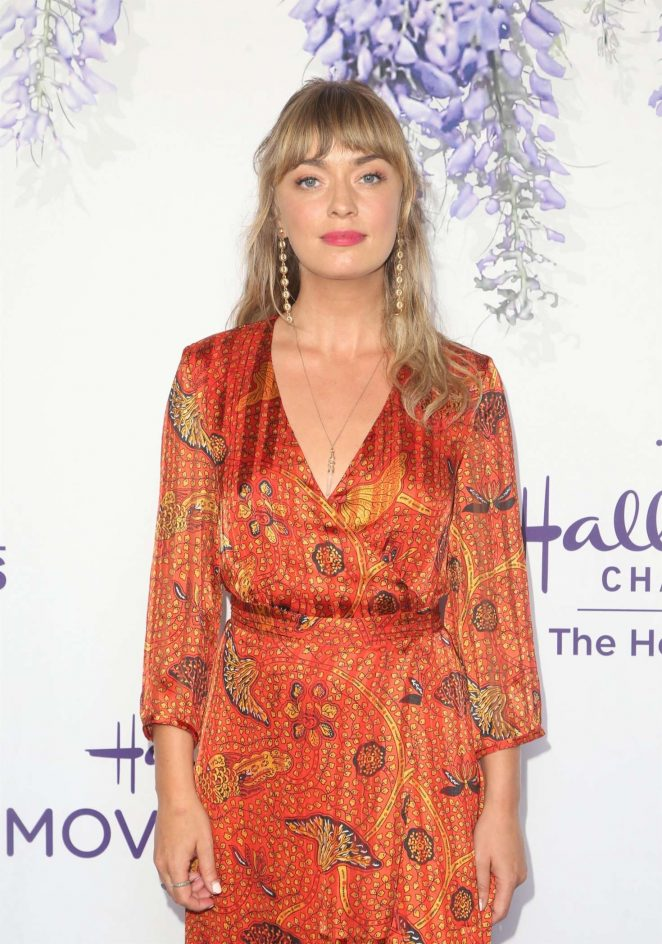 Britt Irvin - 2018 Hallmark's Evening Gala TCA Summer Press Tour in LA