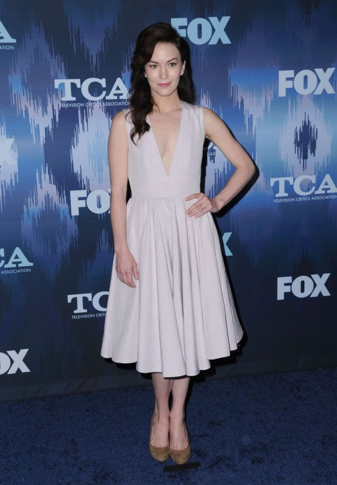 Britt Lower - 2017 FOX Winter TCA All Star Party in Pasadena