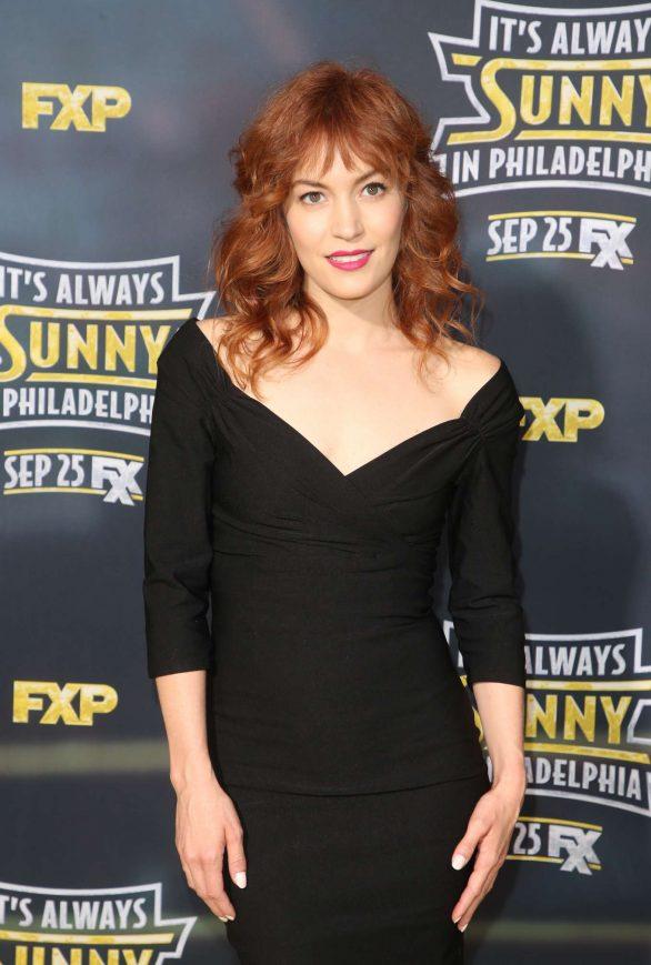Britt Lower - 'It's Always Sunny In Philadelphia' Premiere in Hollywood