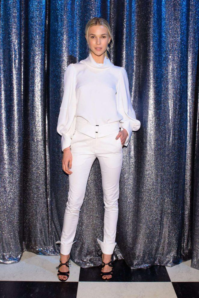 Britt Maren - Oscar De La Renta Show at 2017 NYFW in New York